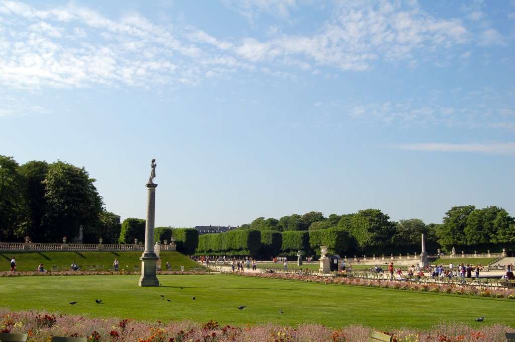 Jardin du Luxembourg à Paris (Photo Gambirob)