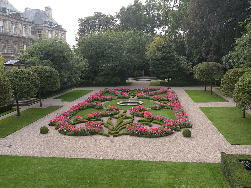 Jardin du petit Luxembourg à Paris (Photo Chatsam)