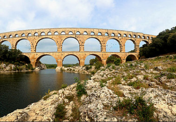 Le Pont du Gard (photo Cookie-chantilly)