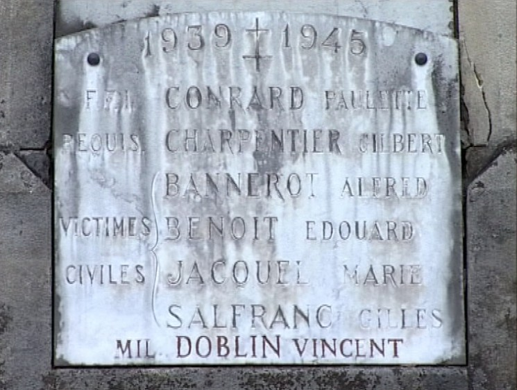 Plaque Doblin_Housseras_monum_morts