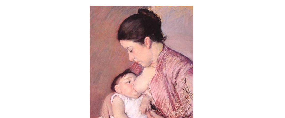 Mary Cassatt : Maternité '1890)