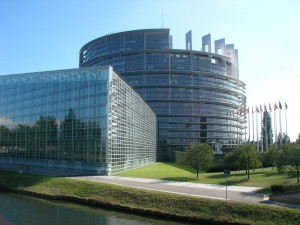 Parlement européen à Strasbourg (Bas-Rhin, France) - Photo Gzen92 / Wikimedia Commons
